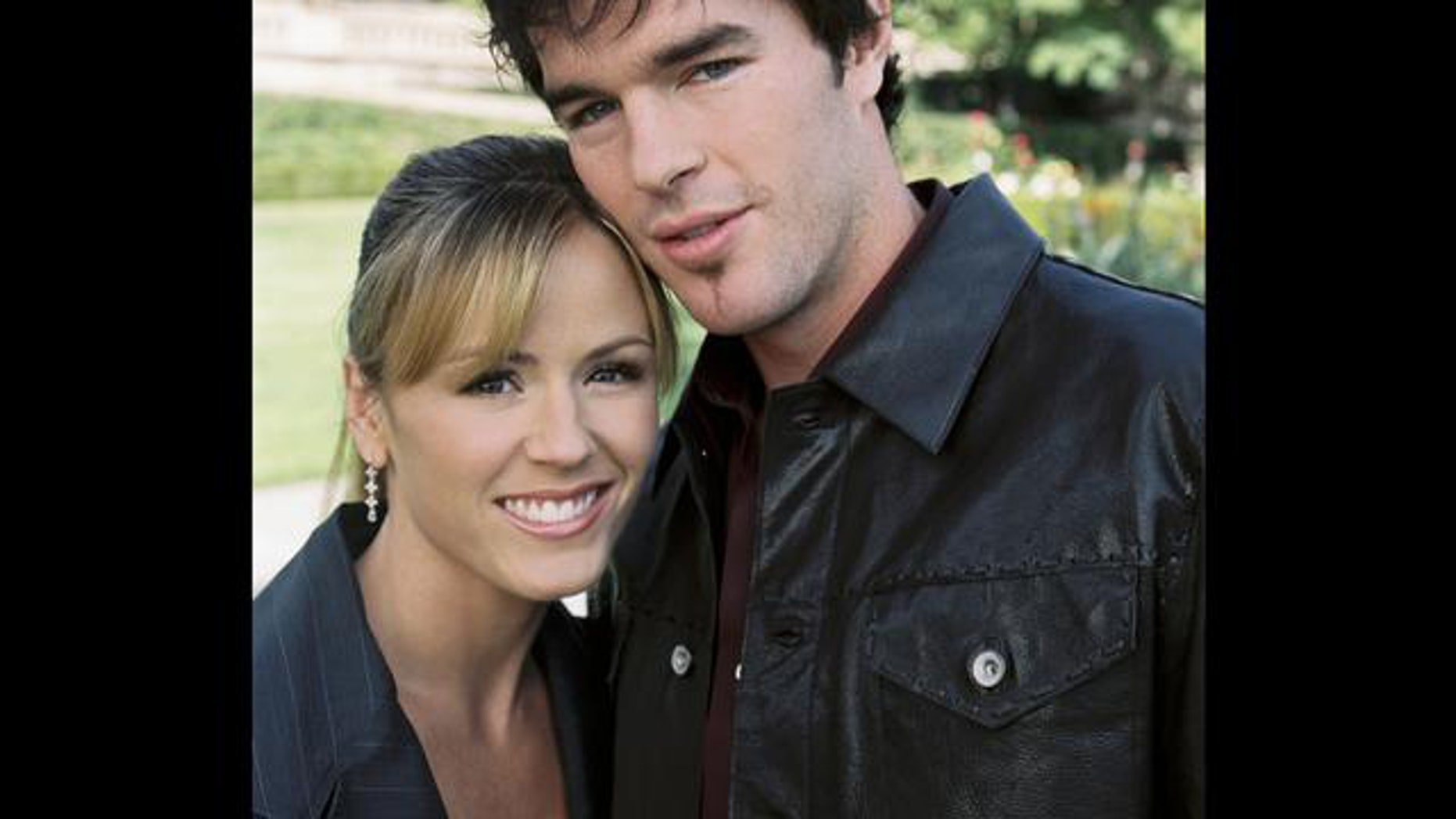 "Trista and Ryan Sutter from ""The Bachelorette."""