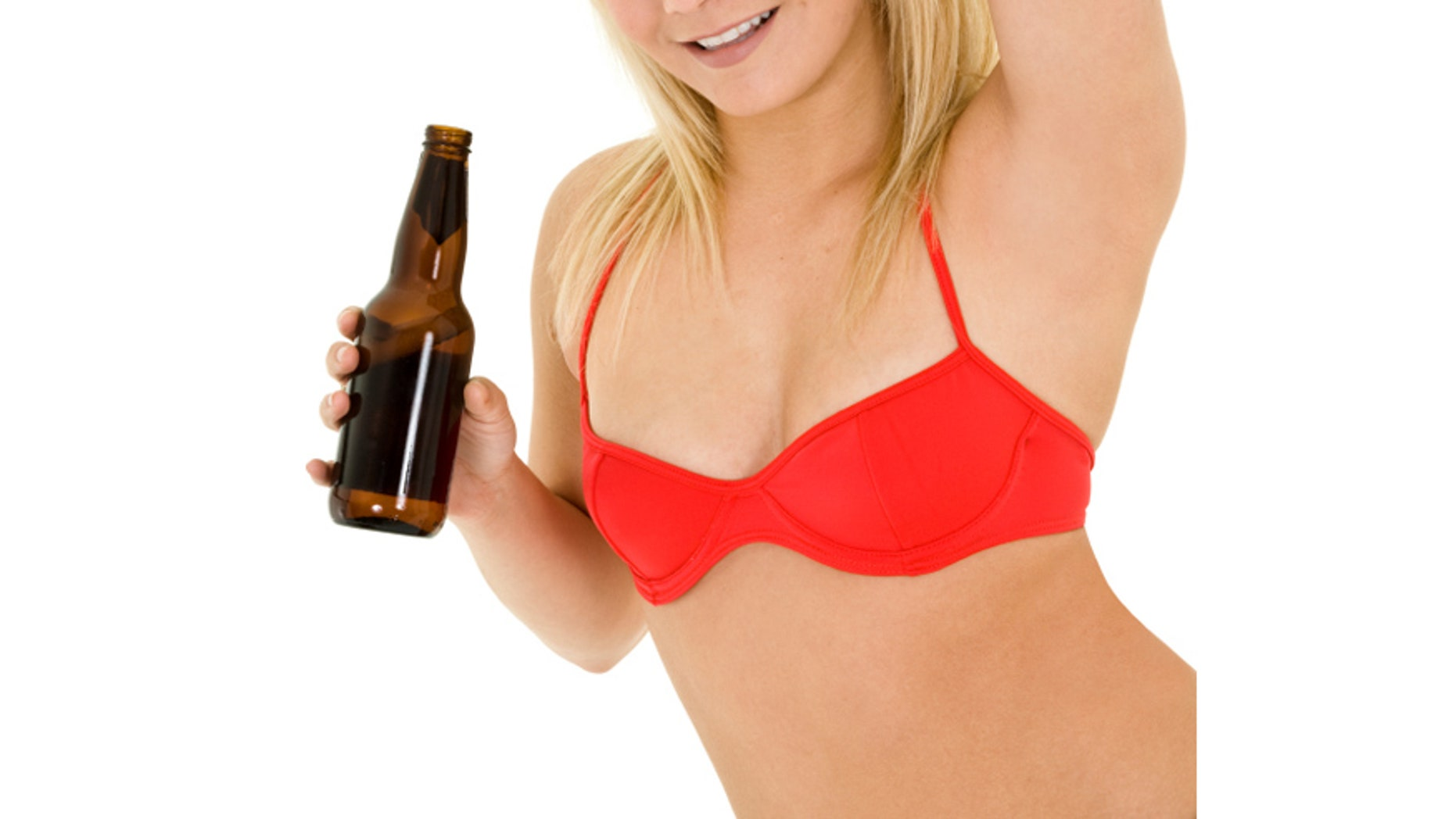Craft brewery combines breasts and beer in new ad.