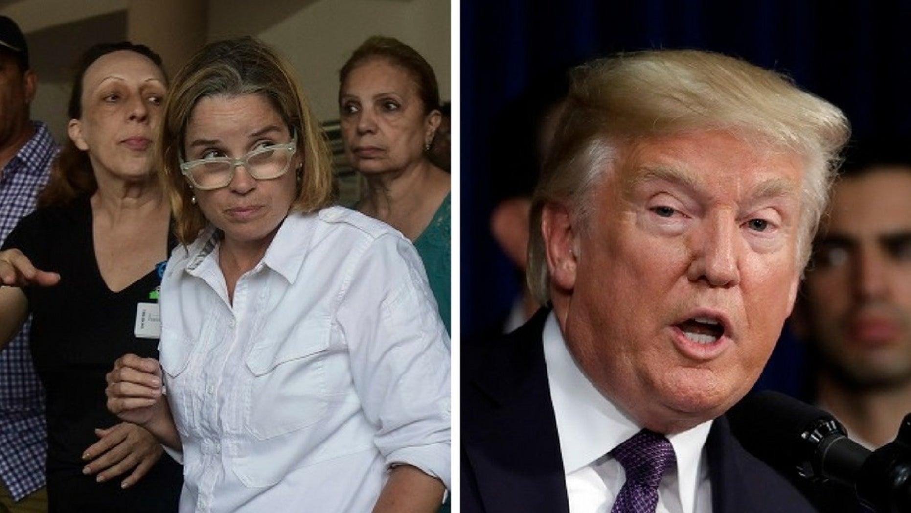San Juan Mayor Carmen Yulin Cruz donned 'nasty' shirt during interview Wednesday in response to President Trump's tweet.