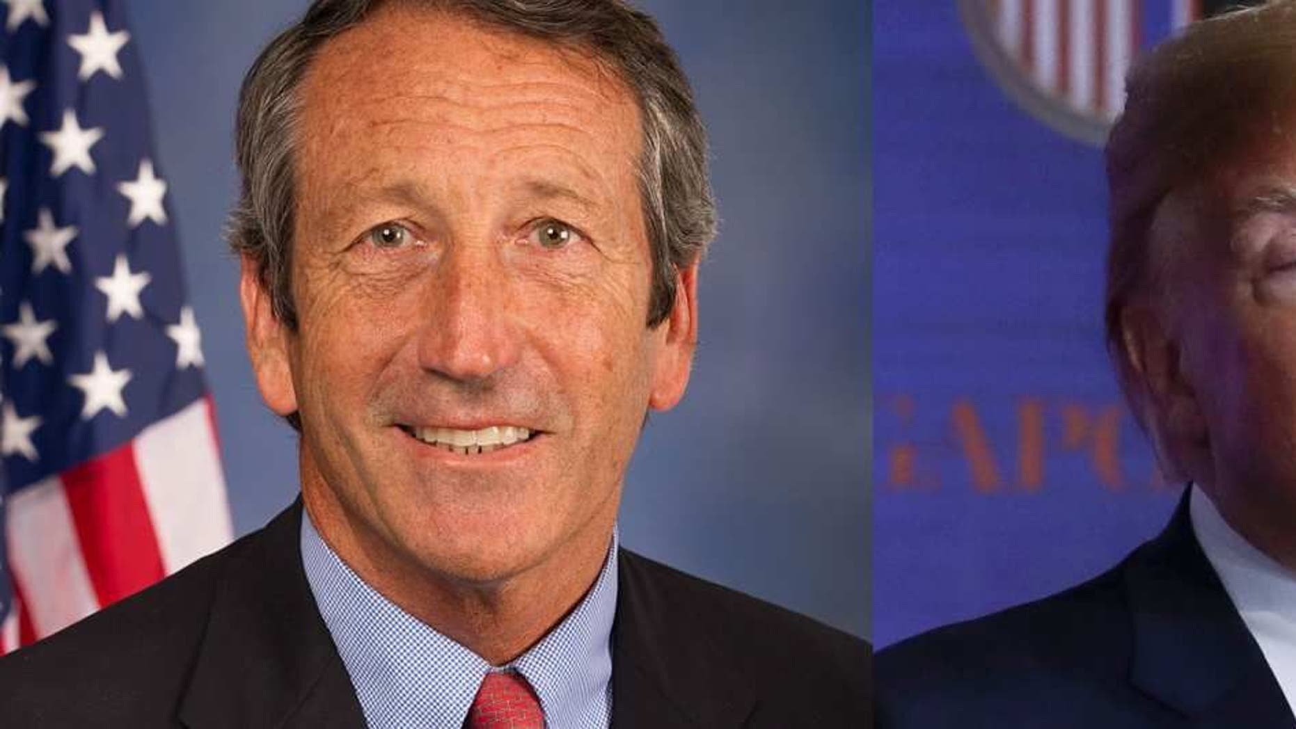 Rep. Mark Sanford, R-S.C./President Donald Trump
