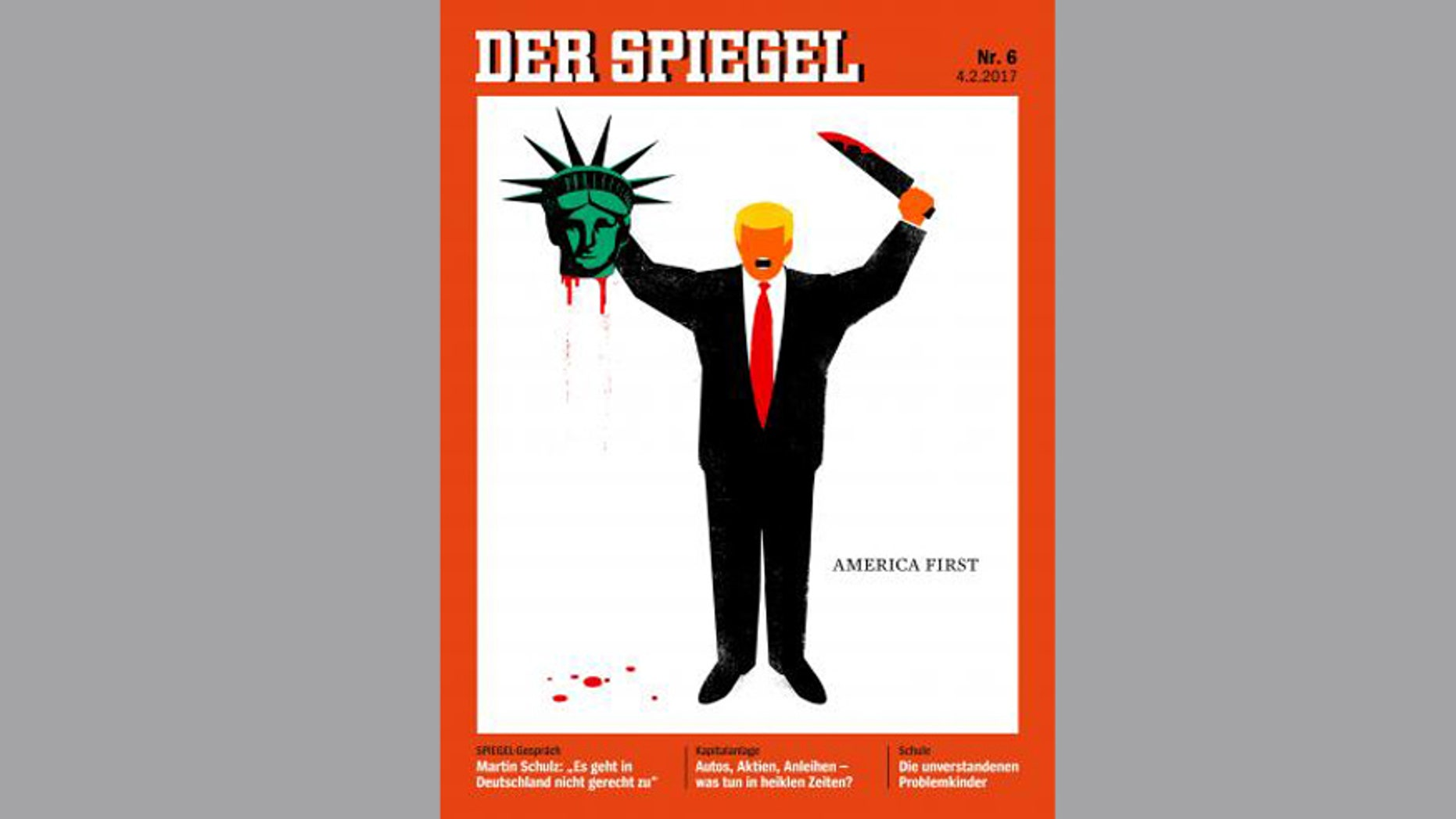 This Der Spiegel cover has sparked controversy in Germany and elsewhere.