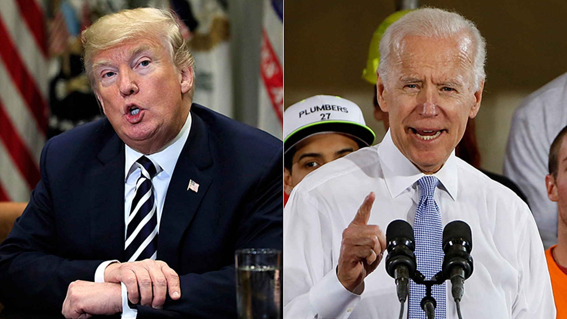 President Trump and Joe Biden sound like they want to square off in the boxing ring even more than in the 2020 election.