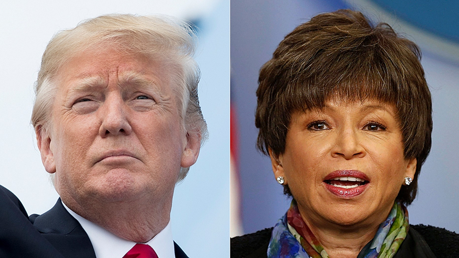 Former Obama adviser Valerie Jarrett suggests President Trump's 'tone' is partly to blame for Roseanne's racist tweet.