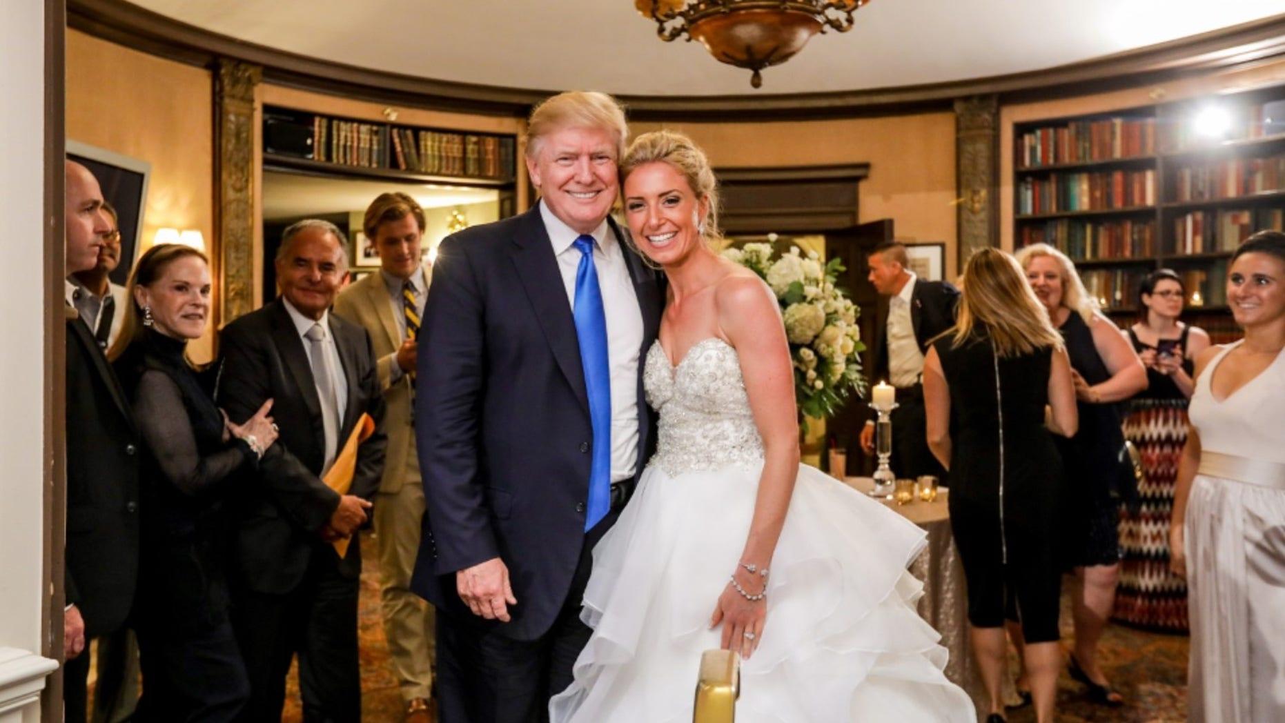 Trump Crashes Wedding.President Trump Crashes Wedding At His New Jersey Golf Club Fox News