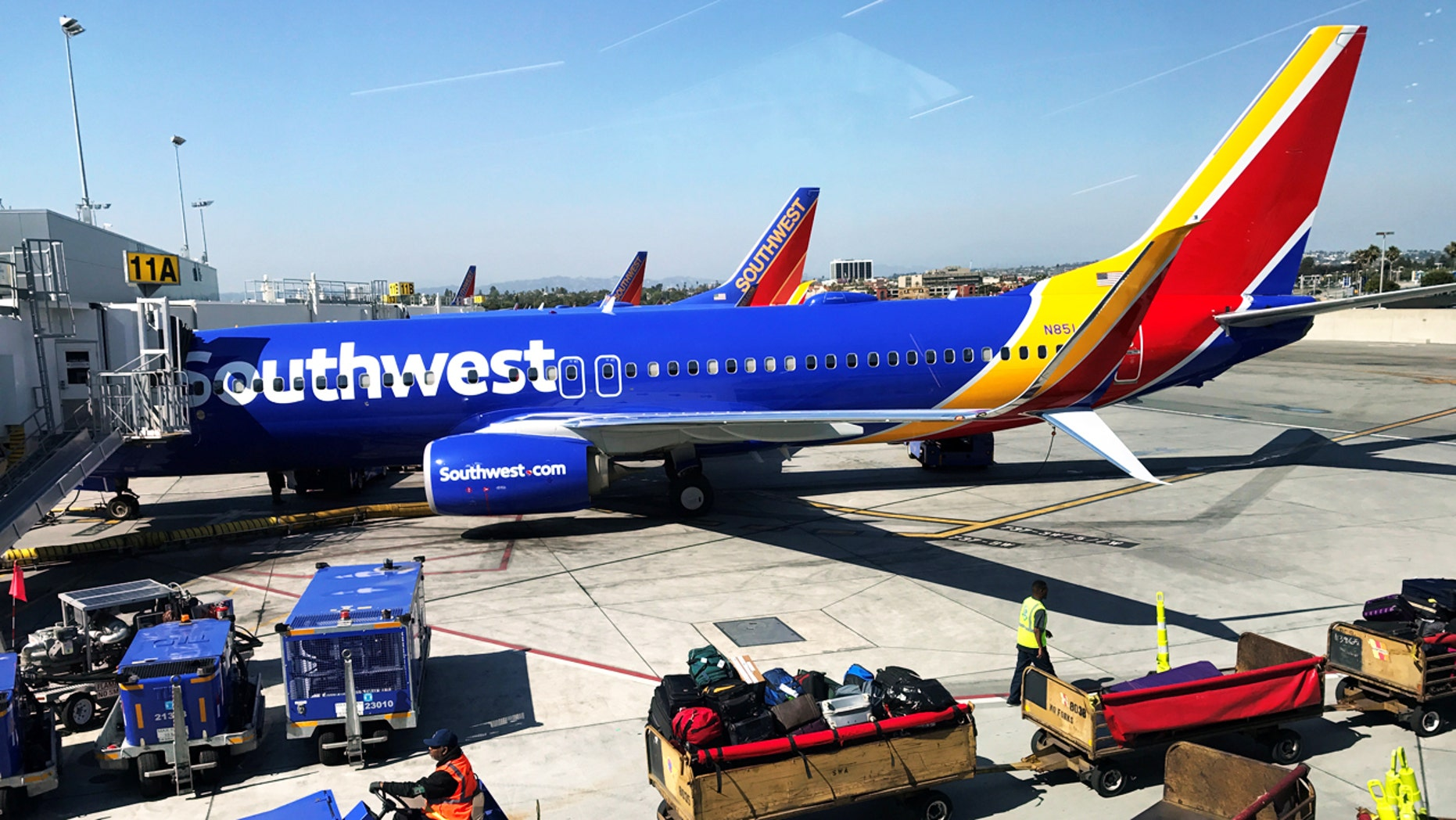 An operations employee at Greater Rochester International Airport has shot to viral fame after a video of him dancing on the tarmac was posted.