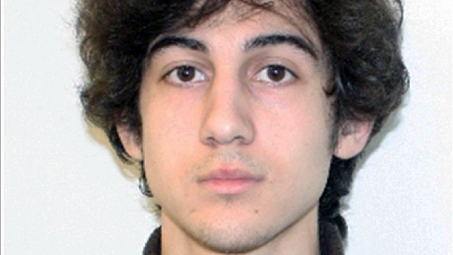 This 2013 file photo shows Boston Marathon bomber Dzhokhar Tsarnaev.