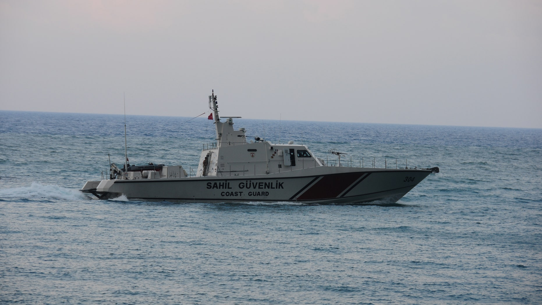 June 24: Turkish coast guard searches for the Turkish warplane which was downed by Syria on Friday off Samandagi in Hatay province in the eastern Mediterranean.