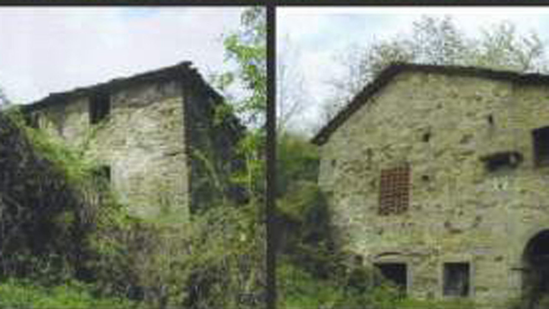 The 800-year-old village of Pratariccia, pictured here in a photo on eBay, is being offered up on the popular online auction site for $3.1 million.