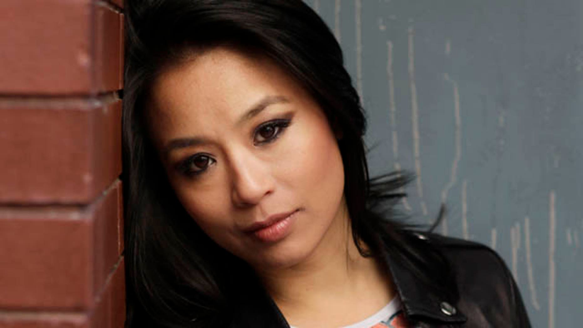 """In this Feb. 8, 2011 photo, actress T.V. Carpio, who is playing Arachne in the musical """"Spider-Man: Turn Off the Dark"""", poses for a picture in New York. Producers of the $65 million musical said Tuesday, March 22, 2011, that Carpio, who plays an evil spider woman called Arachne, was hurt last week during an onstage battle scene. She will be out for the next two weeks. (AP Photo/Seth Wenig)"""