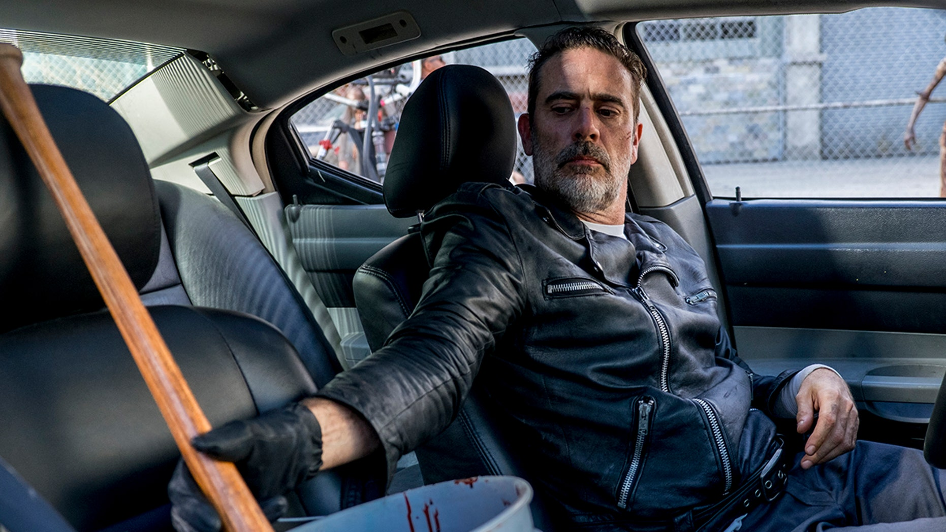 The latest episode picked up right where last week's left off, with a giddy Negan organizing a biological attack on The Hilltop.