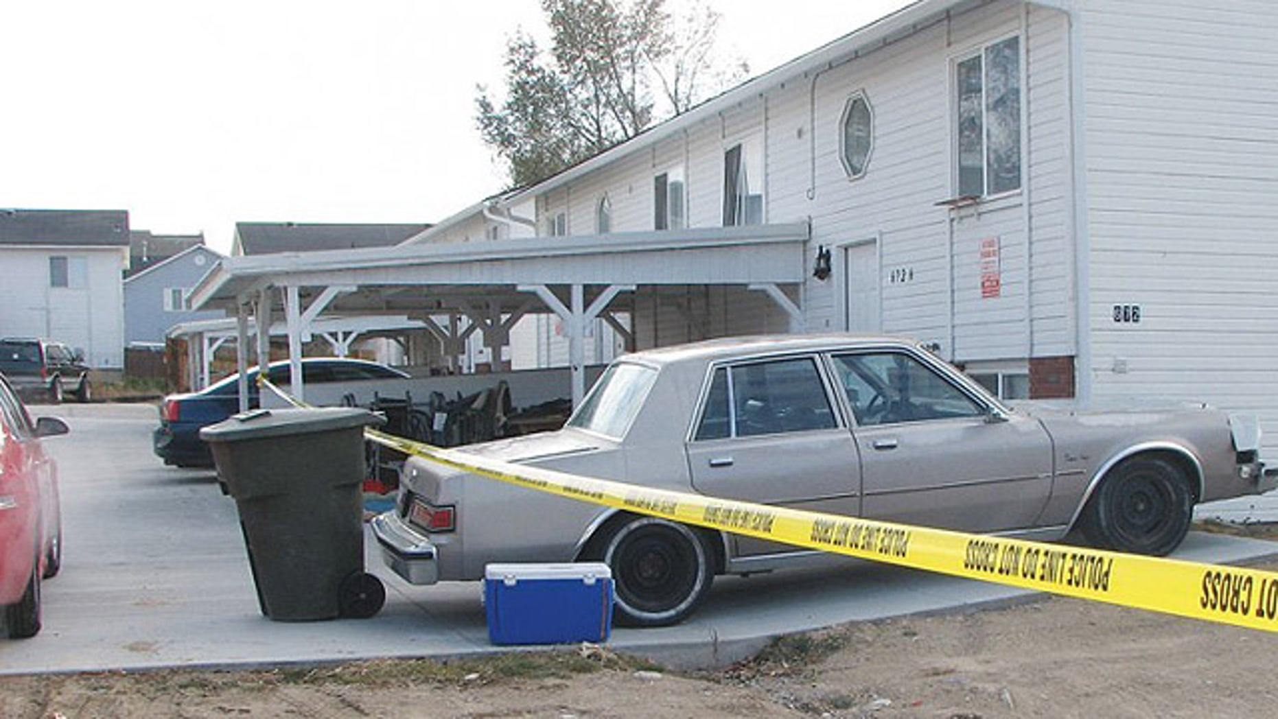 Neighbors told the Idaho State Journal that Kiarra Kimbel has two other children who live with her at her Pocatello apartment, seen above. (Idaho State Journal)