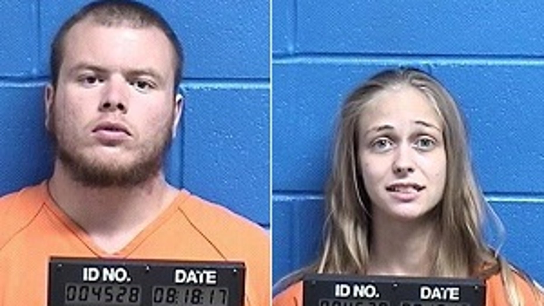 Augustus Standingrock, left, and Tiffanie Pierce were charged with deliberate homicide.