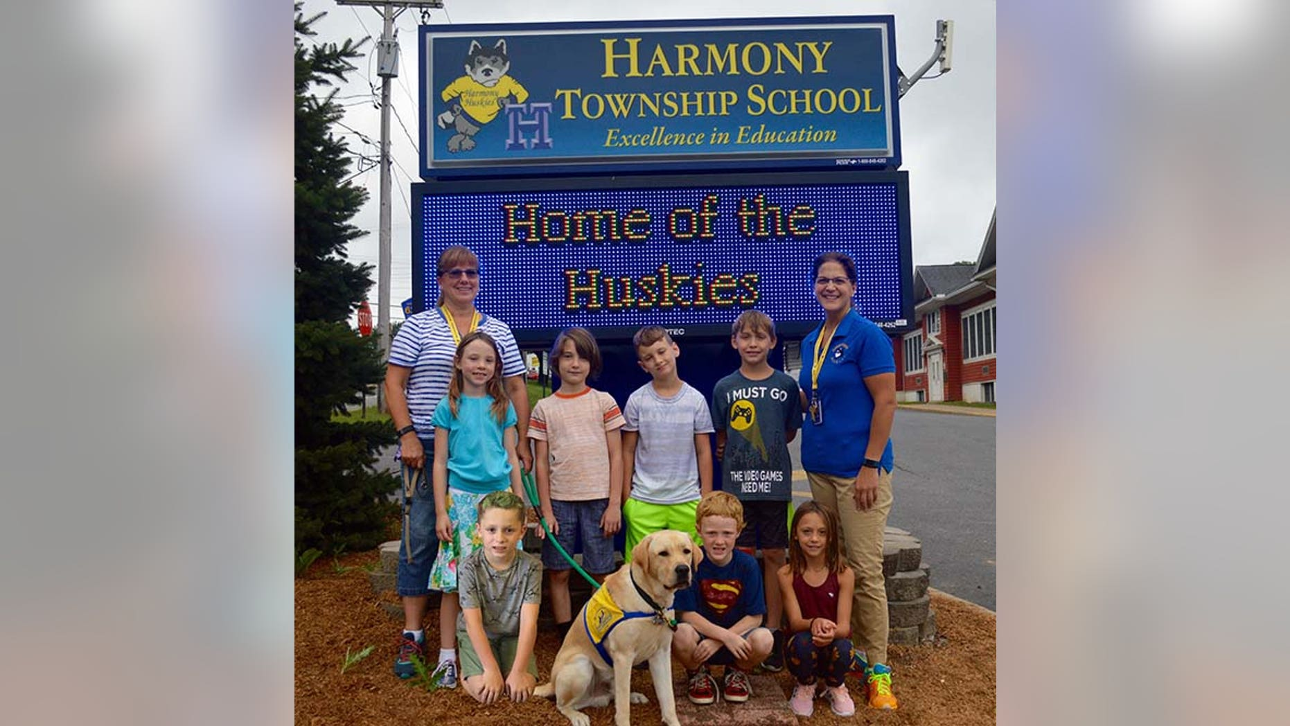 "Kiddos aren't the only ones heading back to the classroom this fall - ""facility dogs"" are, too."