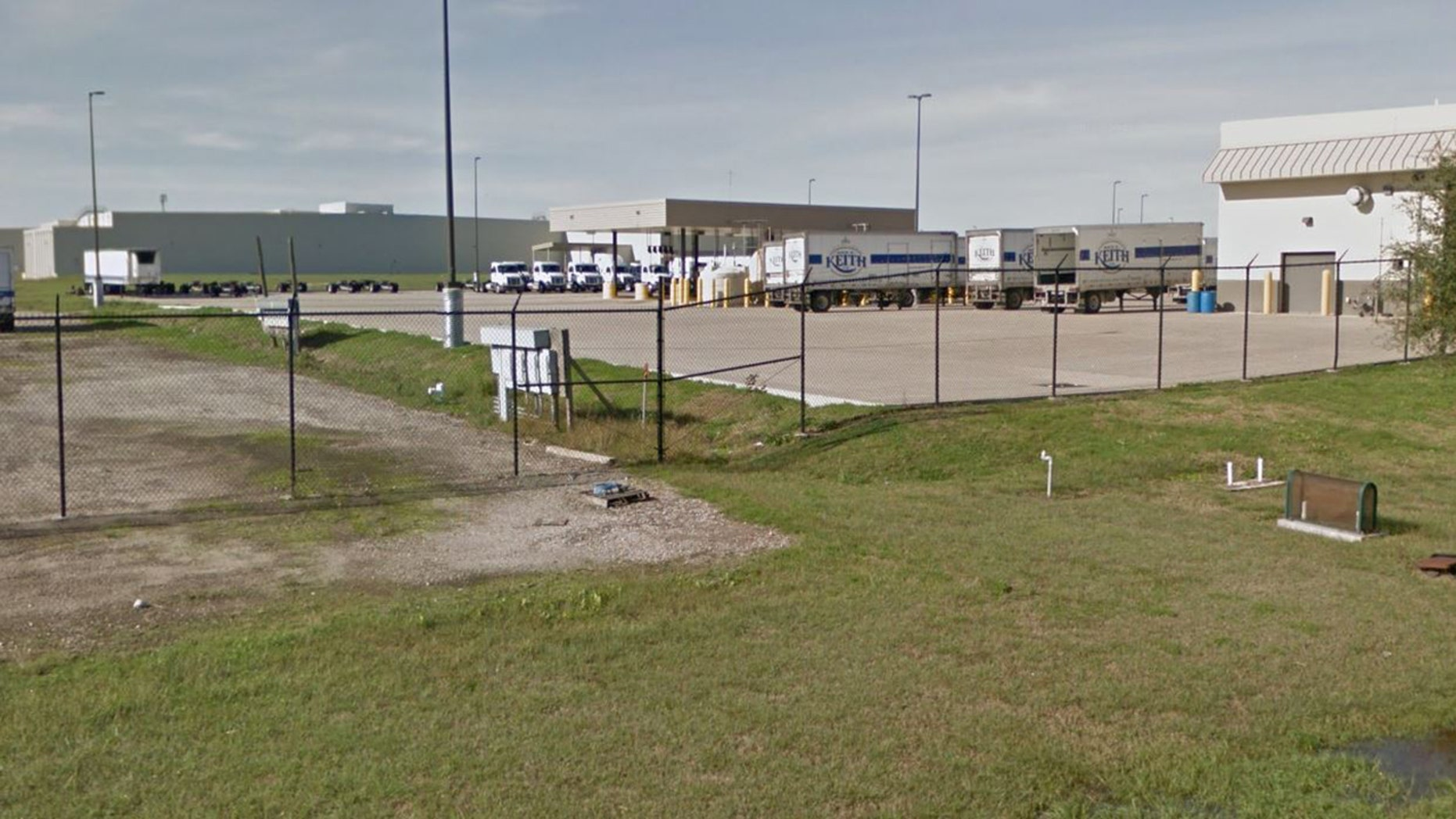 Outside the Ben E. Keith Distribution Center in Missouri City, Texas.