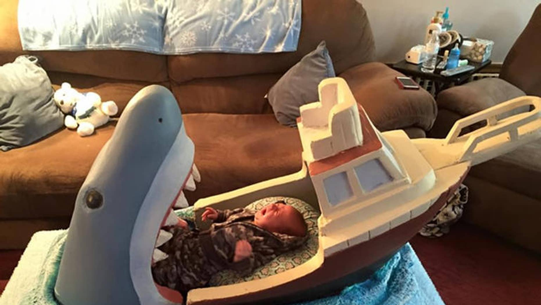 """Maybe the """"Jaws"""" theme is a soothing lullaby."""