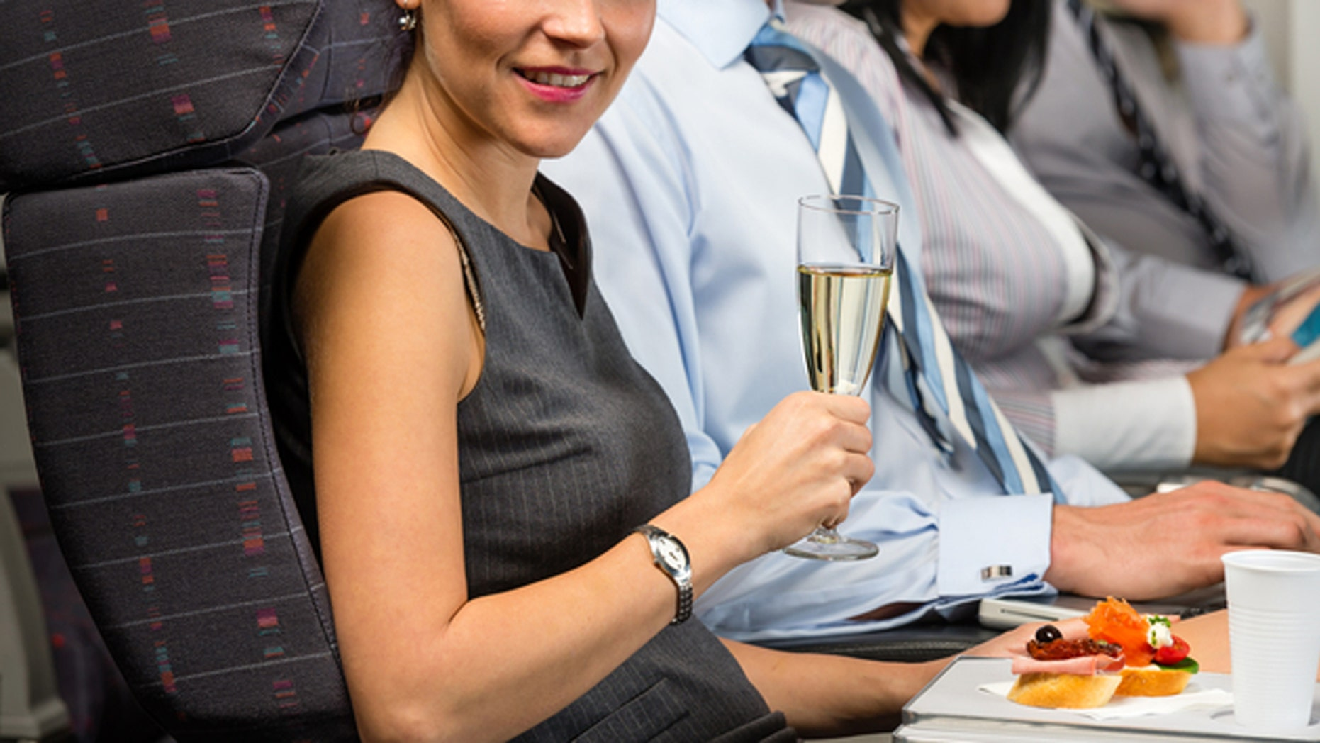 Should you imbibe next time you fly?