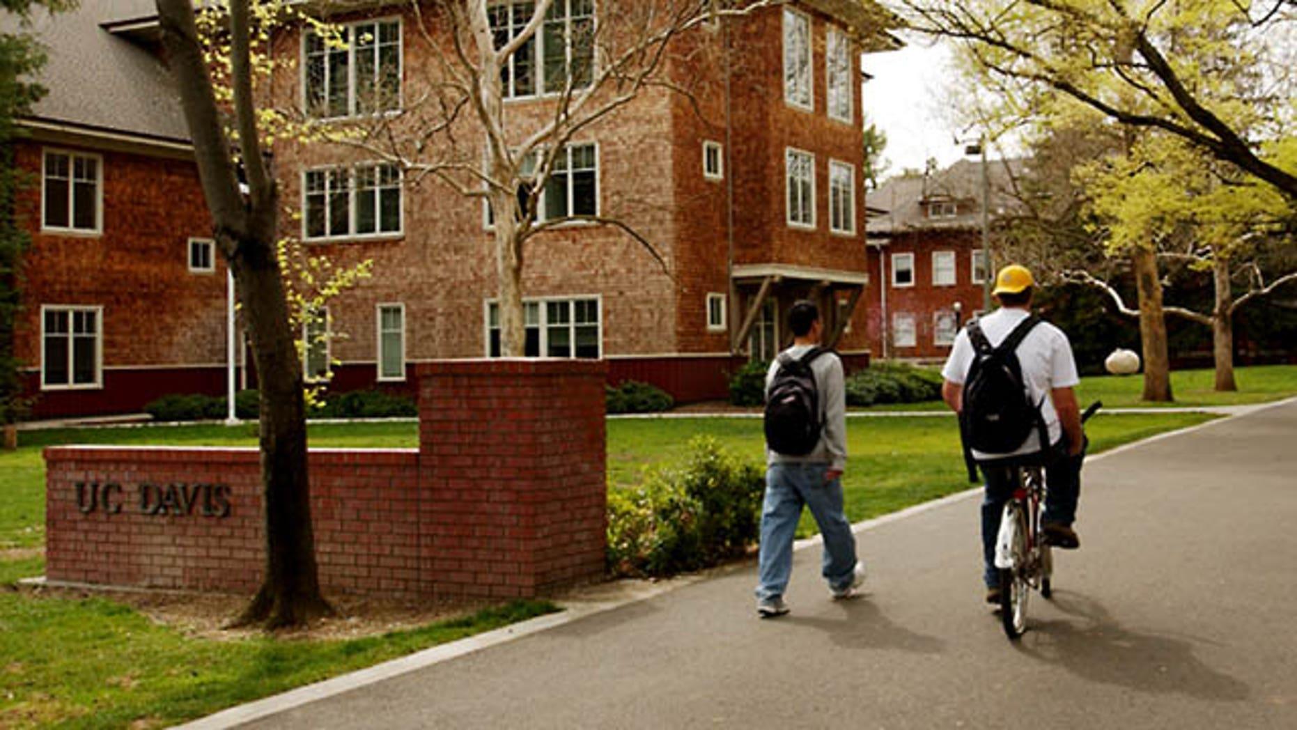 Campus of Universtity of California at Davis