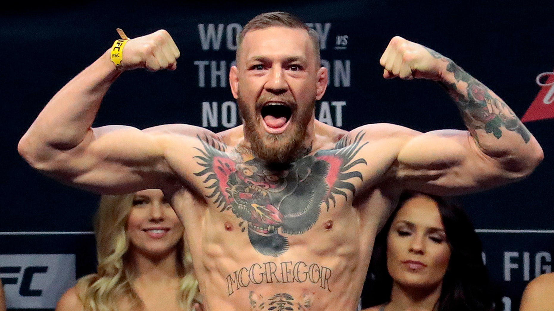 Conor McGregor will make his UFC return on Oct. 6, it was announced Friday.