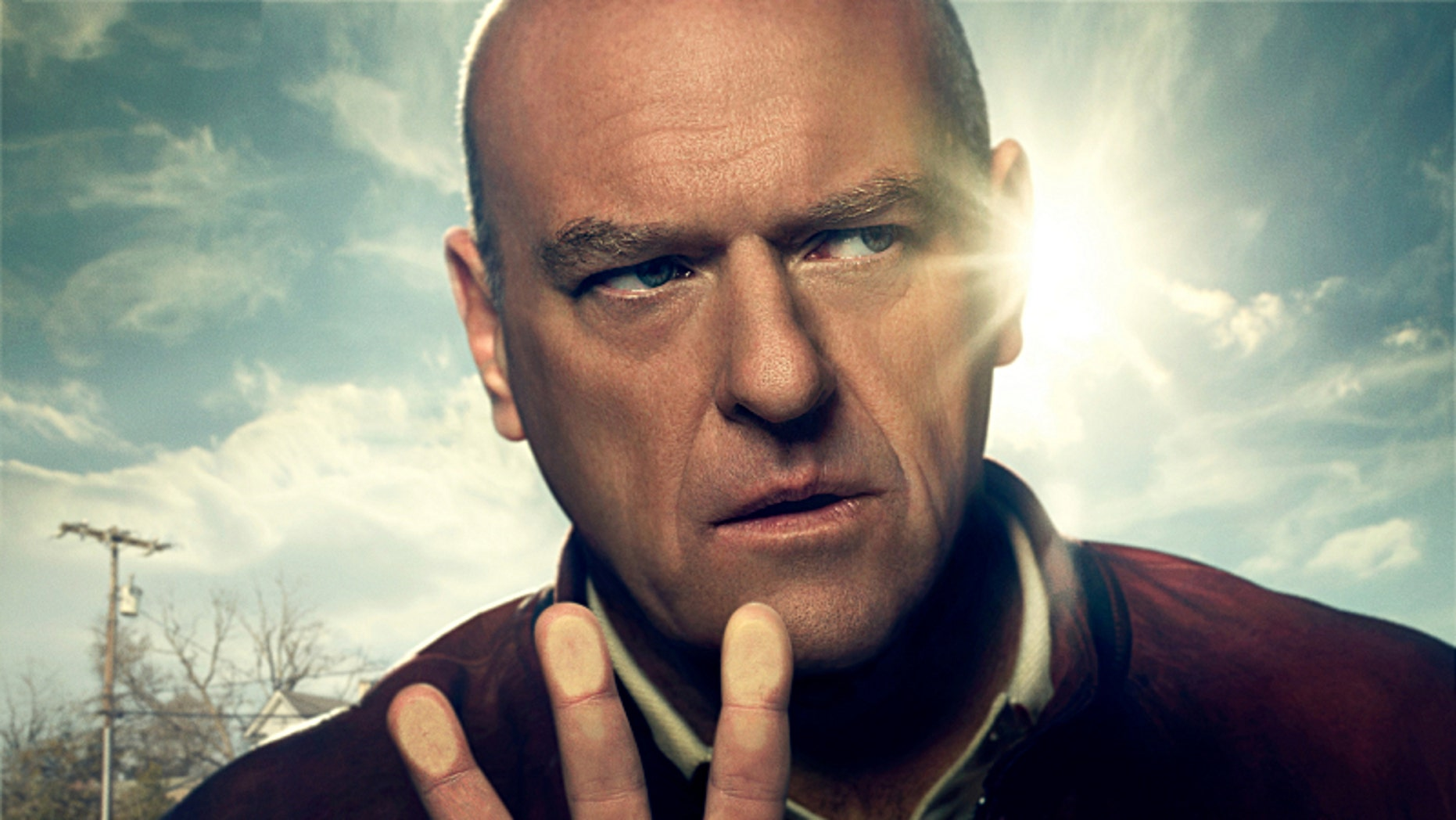 "Dean Norris in ""Under the Dome."""
