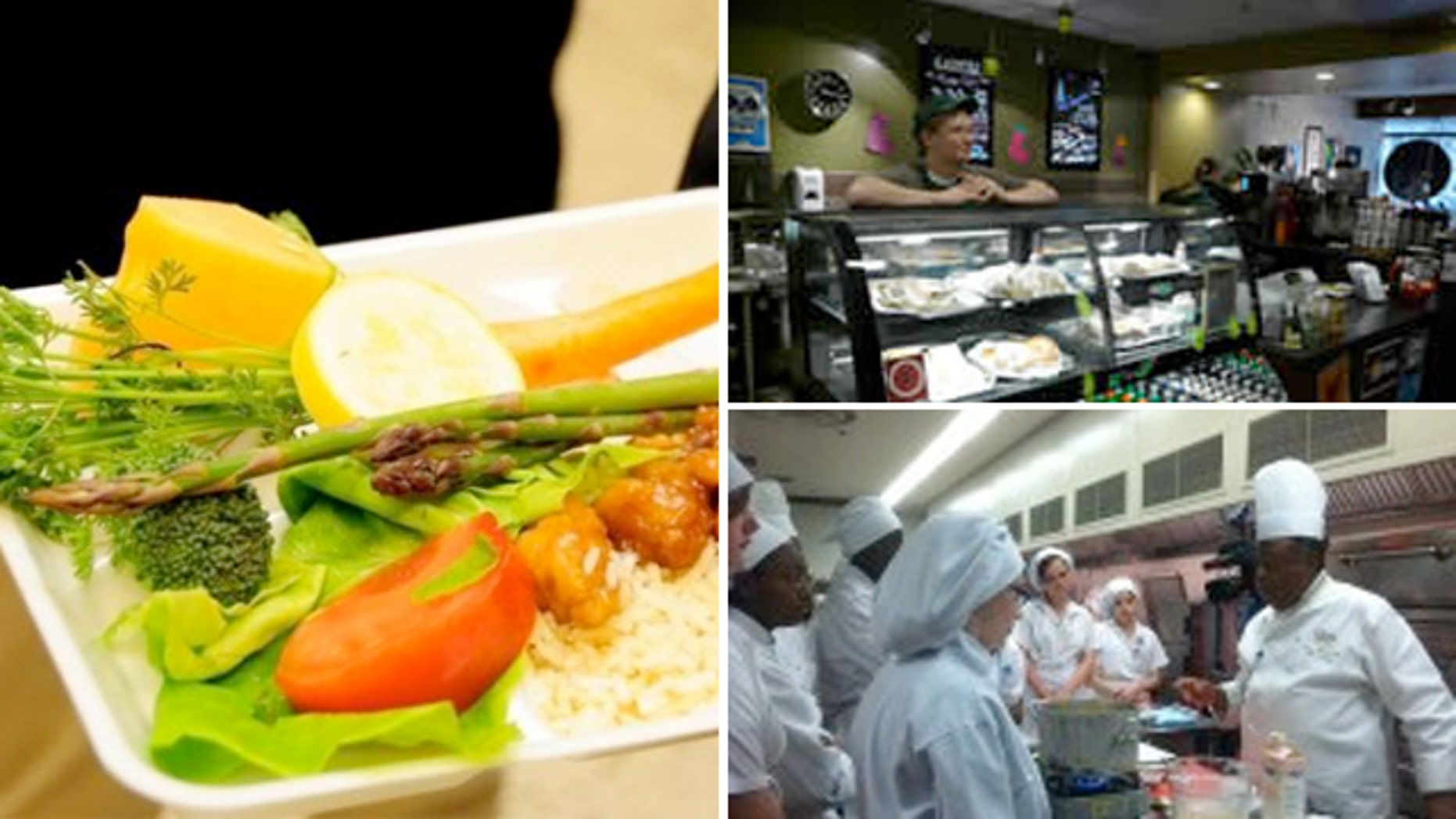 Now high school students run cafes and take courses from master chefs as school.