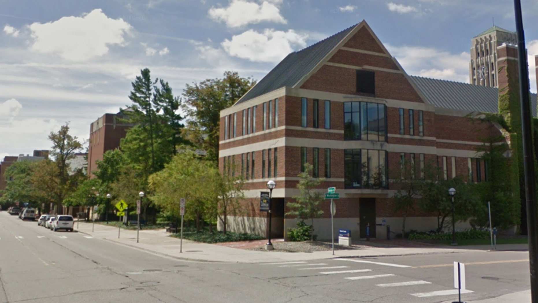 A University of Michigan student told campus police that he was walking on the 200 block of Fletcher St. on campus when he was approached by two other college-age men.