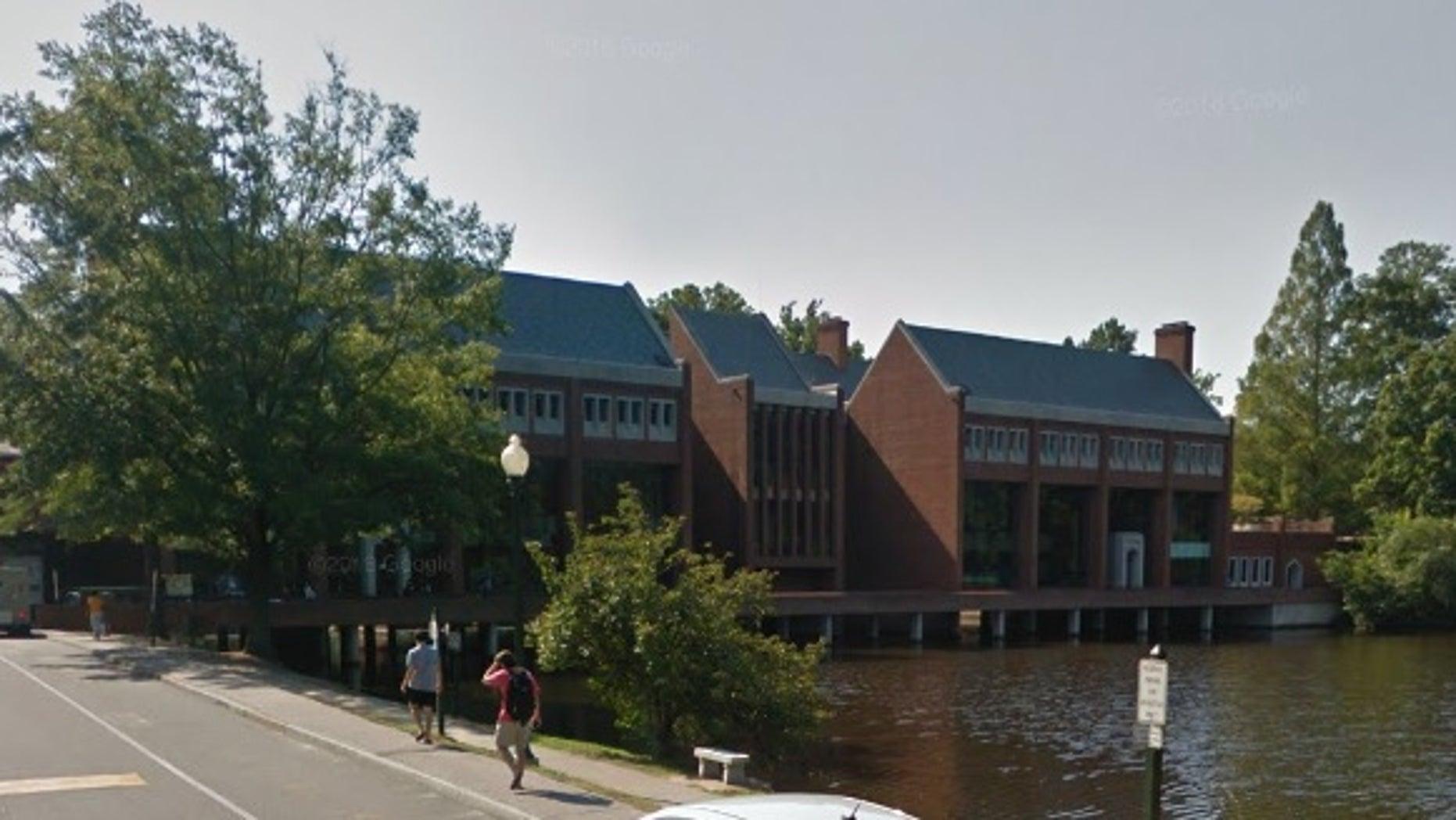 The University of Richmond campus.