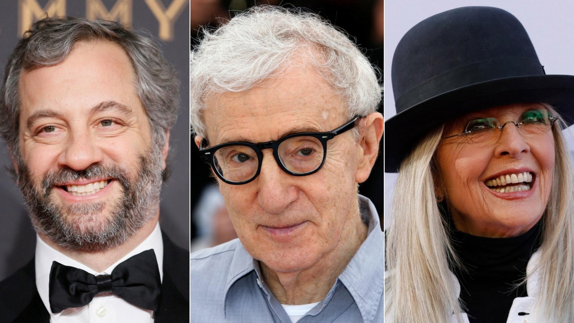Judd Apatow slammed Diane Keaton's defense of Woody Allen.