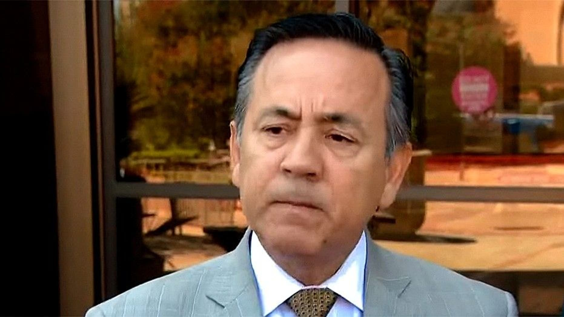The wife of Texas state Sen. Carlos Uresti, D-San Antonio, filed divorce papers one week after his conviction on corruption charges, a report said.