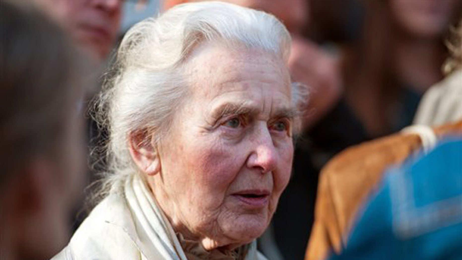 """A German court jailed 87-year-old """"Nazi grandma"""" Ursula Haverbeck for denying the Holocaust. (Associated Press)"""