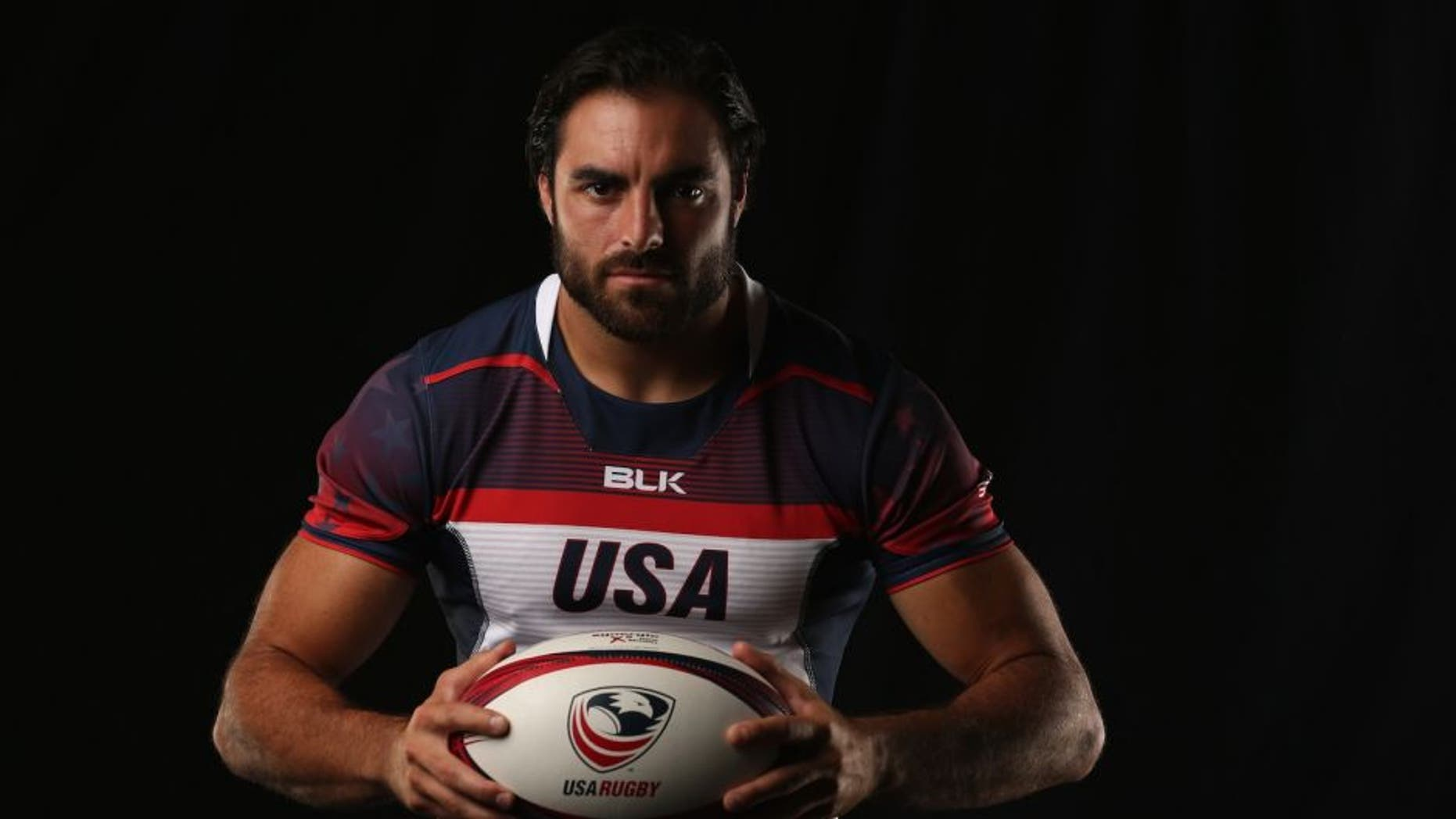 CHULA VISTA, CA - JULY 21: Nate Ebner of the USA Rugby Mens Sevens Team poses for a portrait at the Olympic Training Center on July 21, 2016 in Chula Vista, California. (Photo by Sean M. Haffey/Getty Images)