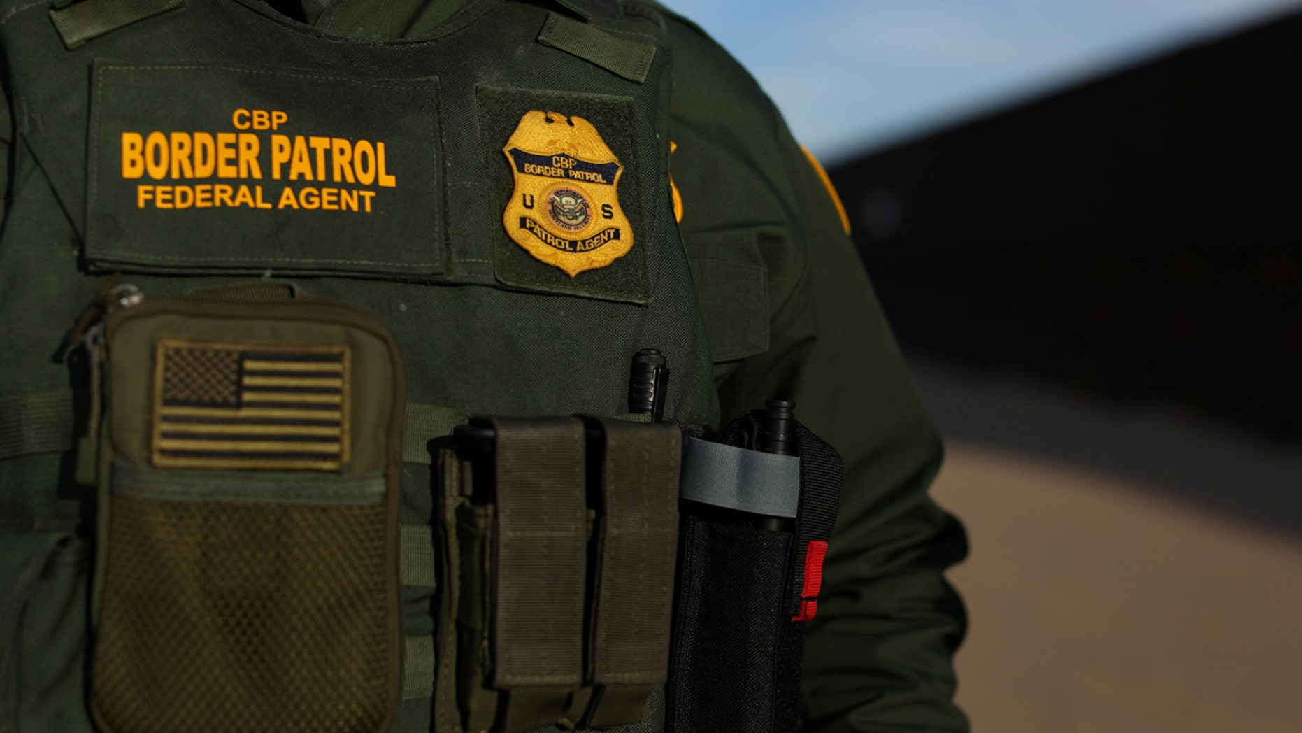 A U.S. border patrol agent was wounded in a shooting near the U.S.-Mexico border.