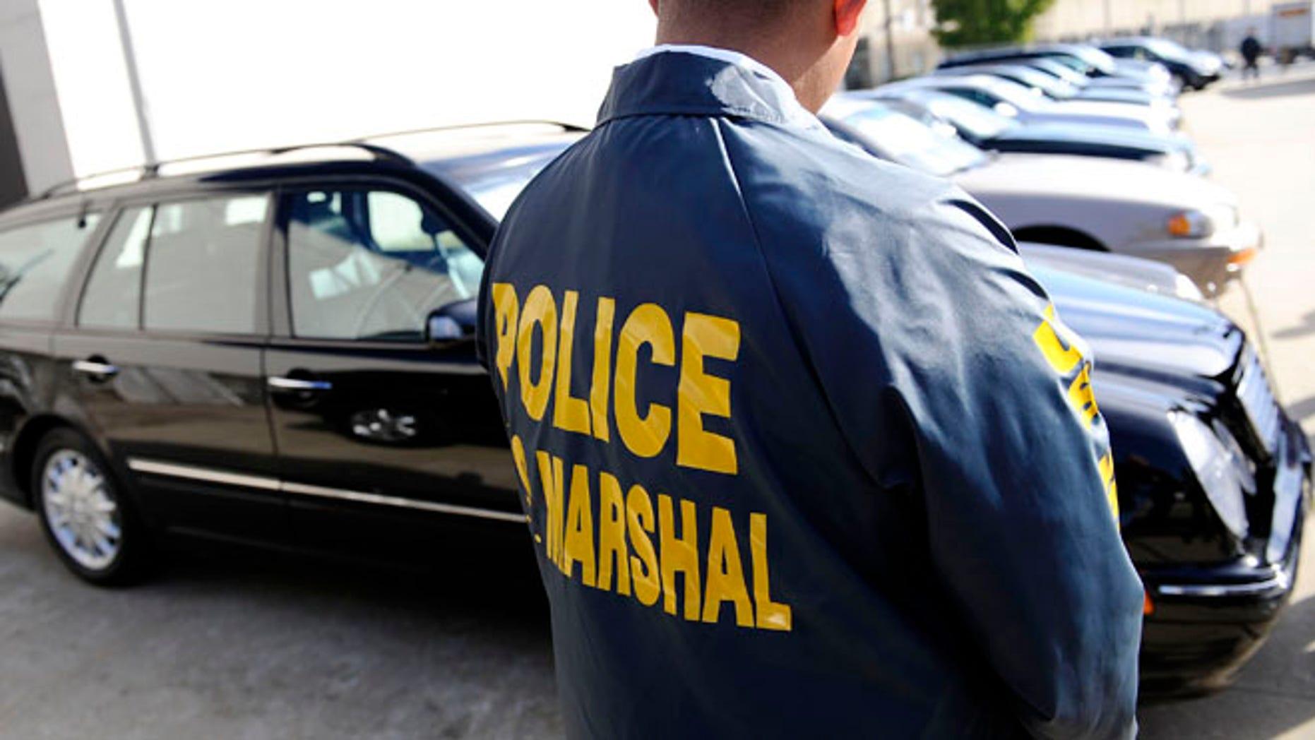 FILE: (UNDATED) A U.S. marshal. REUTERS