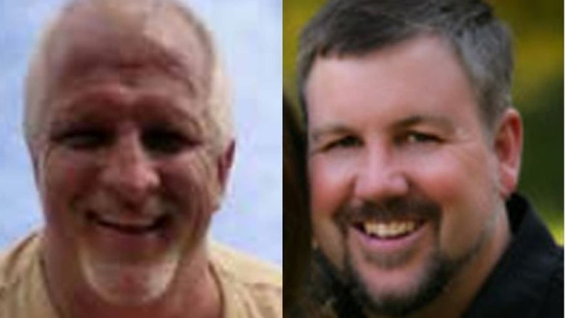 Harold Nichols, (l.), and Randy Hentzel, (r.), were found murdered April 30 in a rugged and remote area of Jamaica. (TEAMS for Medical Missions)