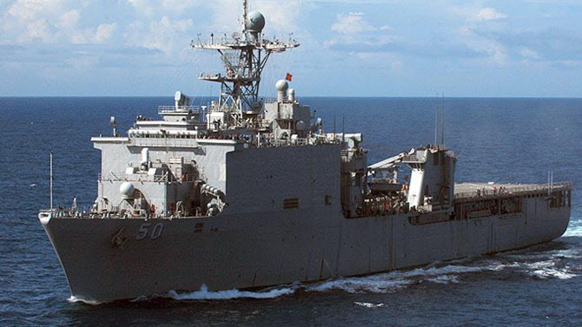 USS Carter Hall.