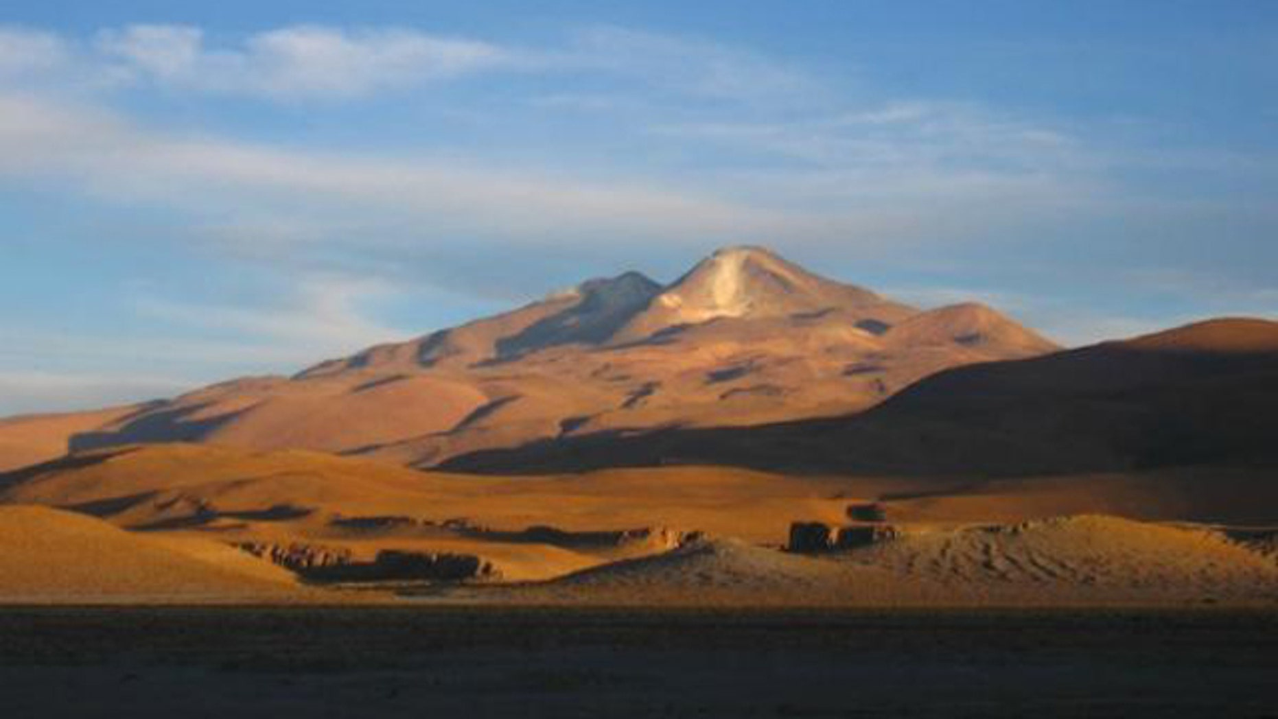How long has this been going on? Uturuncu, a Bolivian volcano that is inflating at an incredible rate.