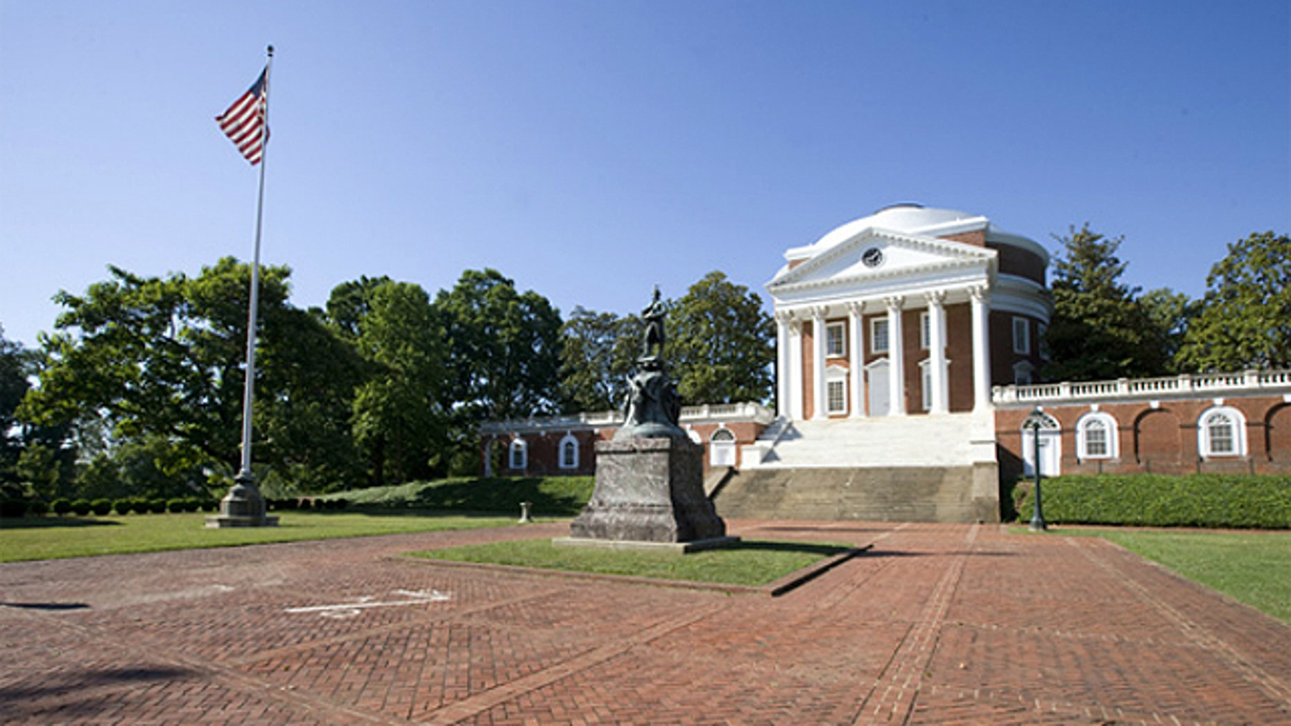 The University of Virginia, seen above, was named to the list for the second consecutive year, along with The College of William & Mary, the University of Pennsylvania and the University of Tennessee-Knoxville.