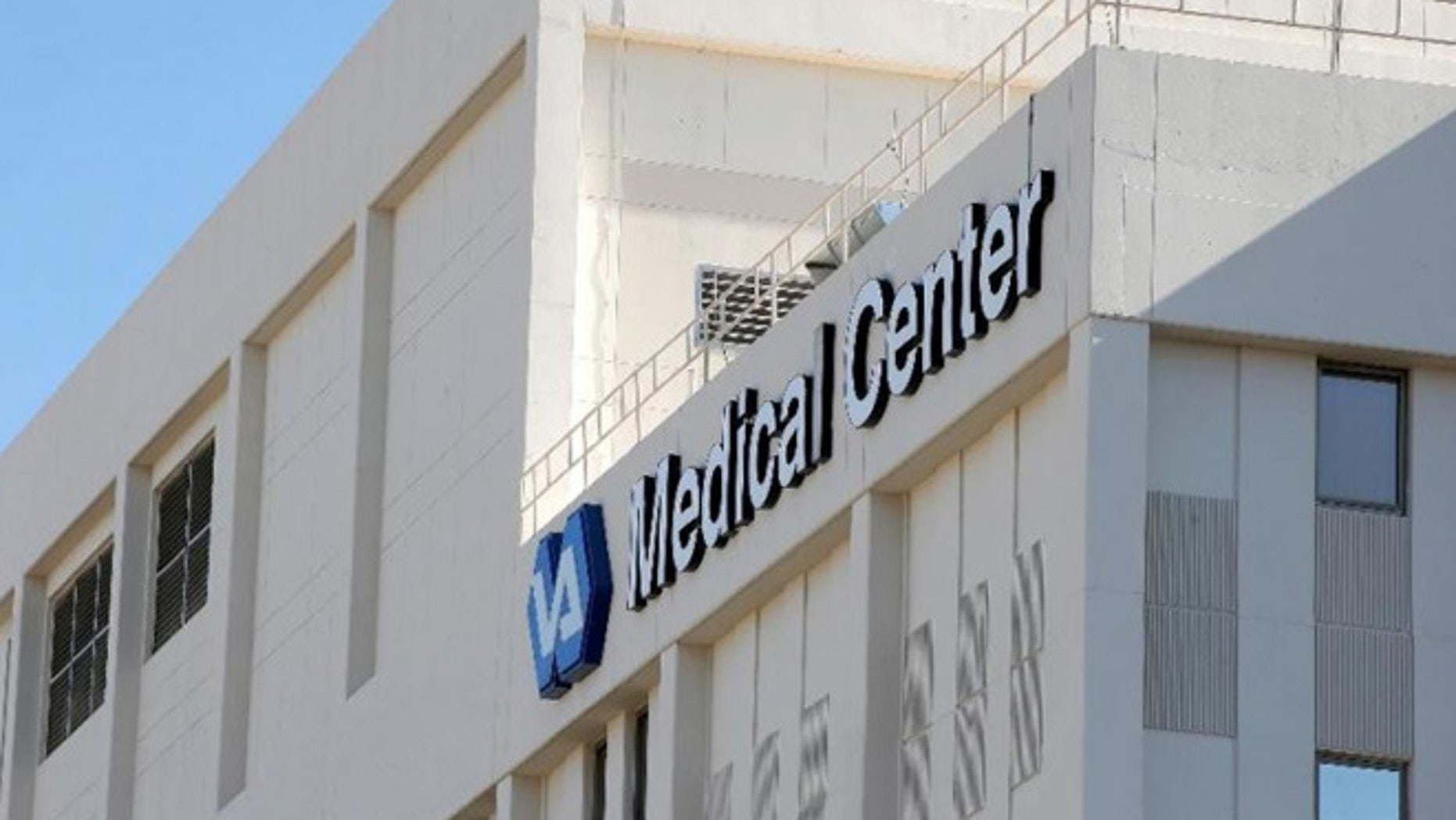 FILE--The Phoenix VA Health Care Center in Phoenix, is seen in this Monday, April 28, 2014, file photo. (AP Photo/Ross D. Franklin)