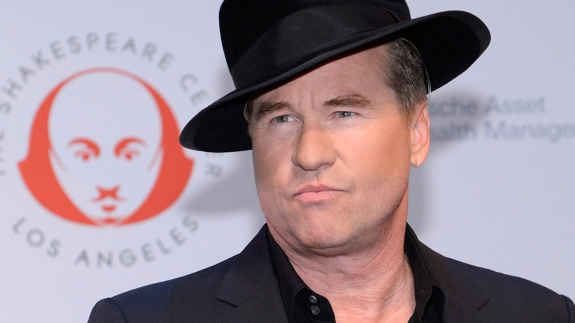 """Actor Val Kilmer attends The Shakespeare Center of Los Angeles 23rd Annual Simply Shakespeare benefit reading of """"The Two Gentlemen of Verona"""" in Santa Monica, California September 25, 2013."""