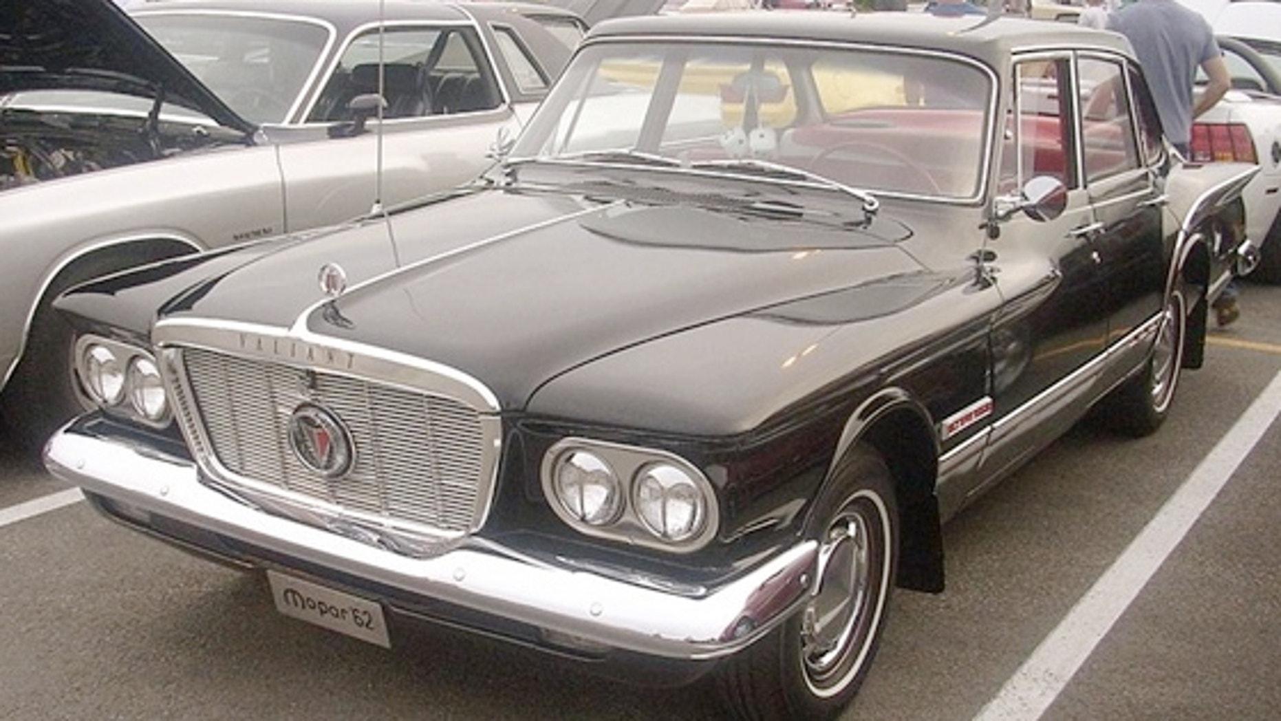 1962 Plymouth Valiant Sedan