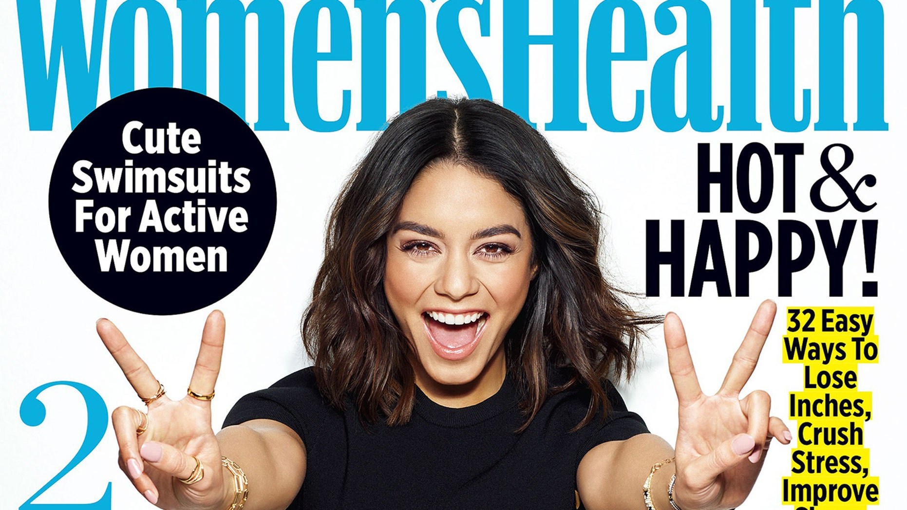 Vanessa Hudgens' Women's Health coverCredit: Jeff Lipsky