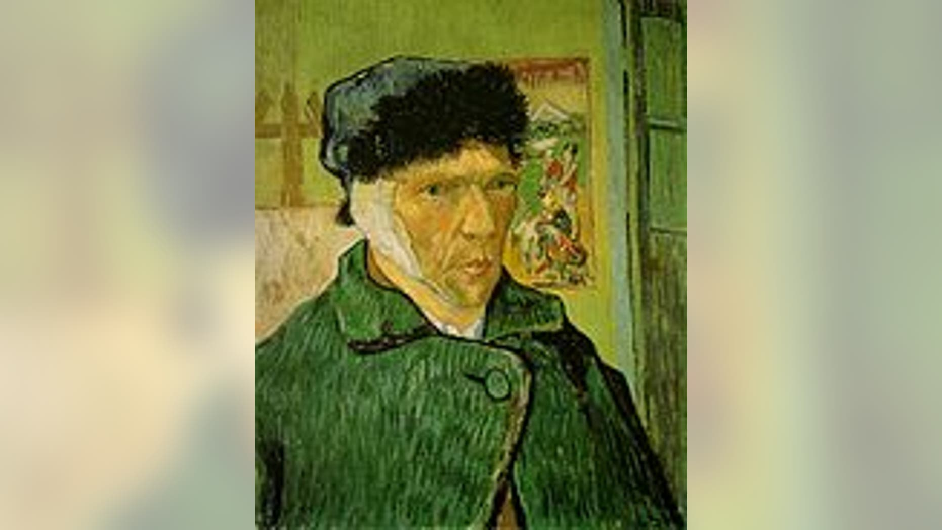 """""""Self-Portrait with Bandaged Ear,"""" by Vincent van Gogh"""