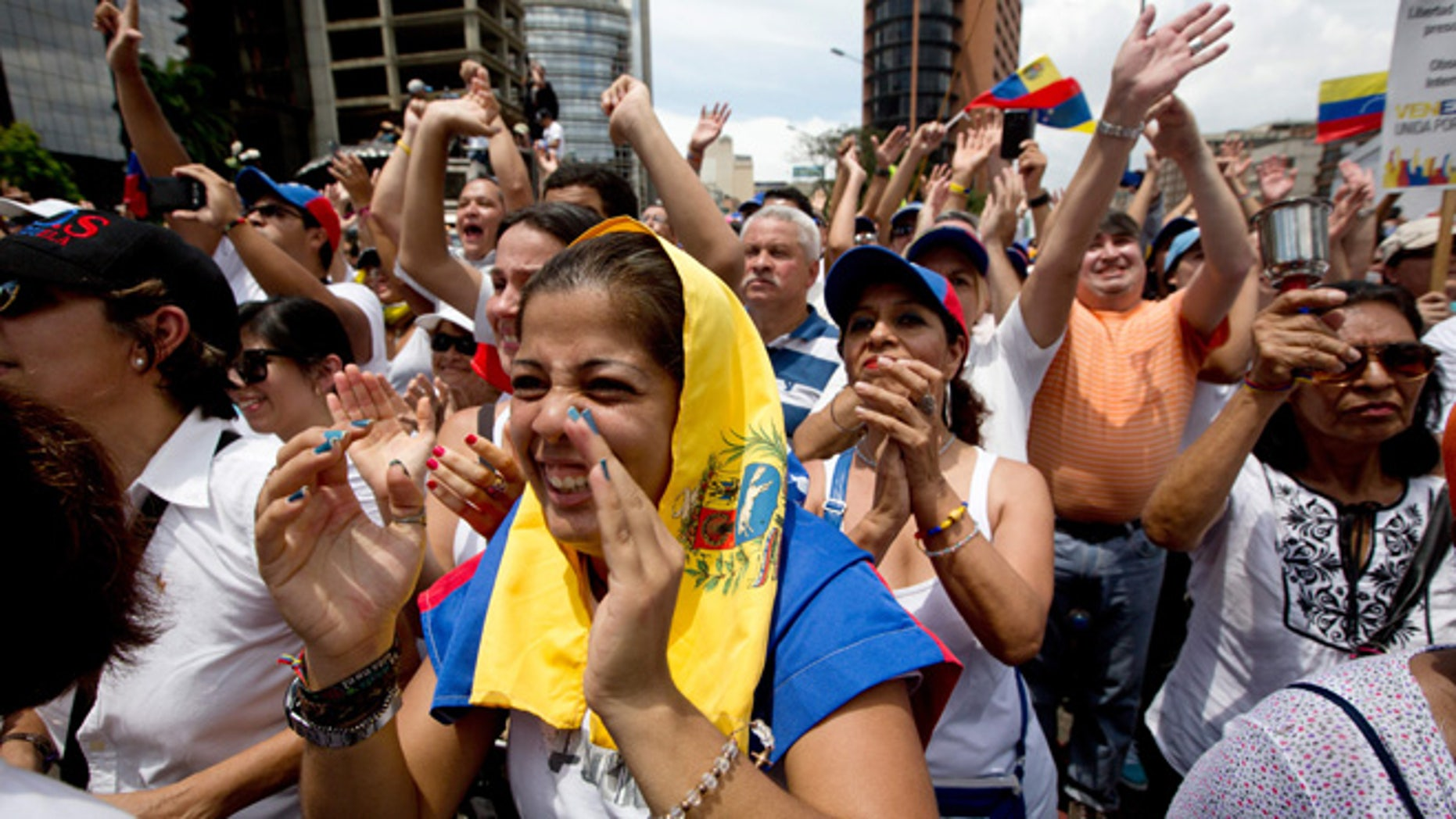 Venezuelans have been protesting the shortages of basic goods and governing style of President Nicolas Maduro.