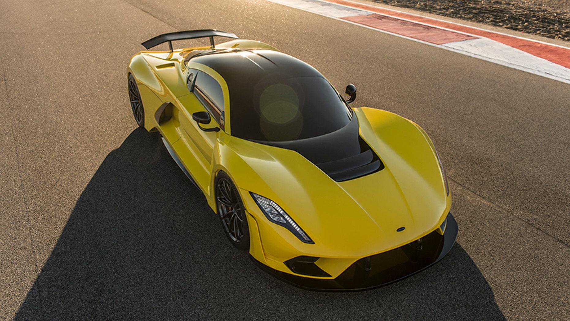 $1.6 million Hennessey Venom F5 designed to go 300 mph | Fox News
