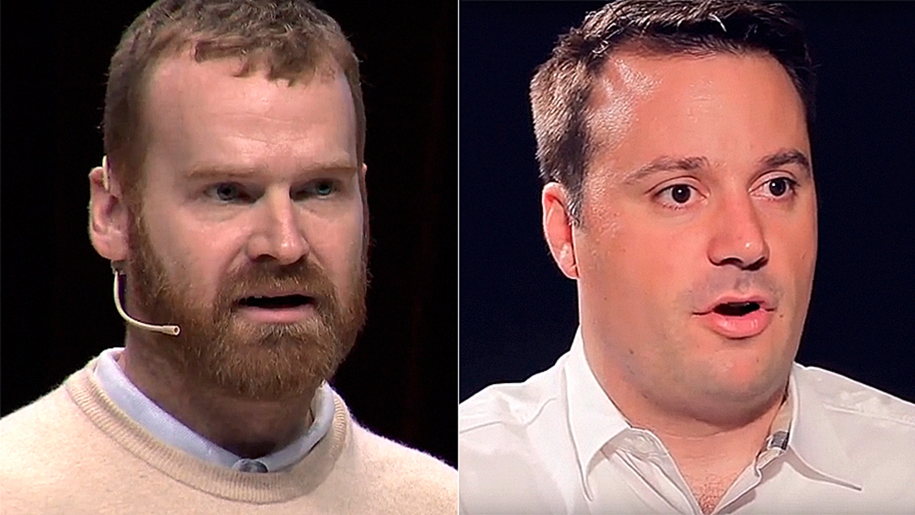 Vice's president Andrew Creighton, left, and chief digital officer Mike Germano have been suspended following sexual misconduct allegations.