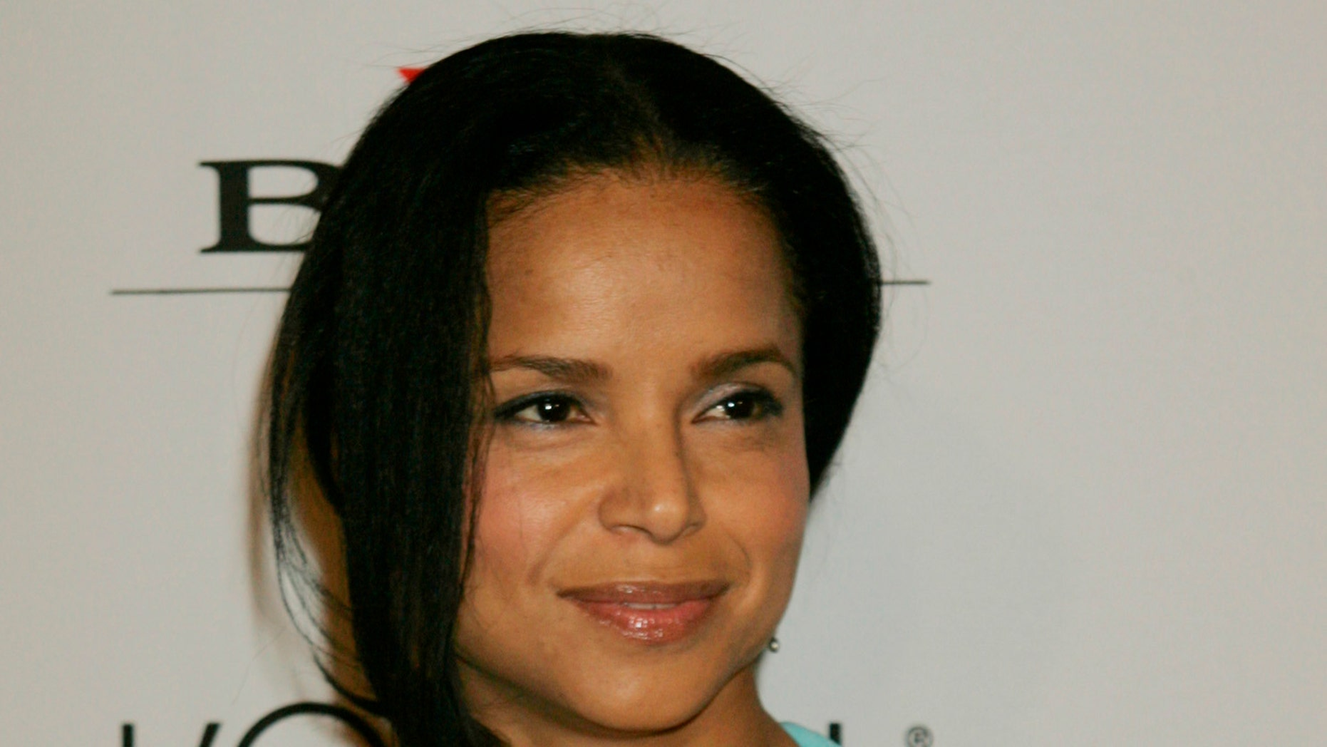 Actress Victoria Rowell arrives at a pre-Grammy party hosted by Clive Davis at the Beverly Hills Hilton in Beverly Hills, California  February 7, 2006.
