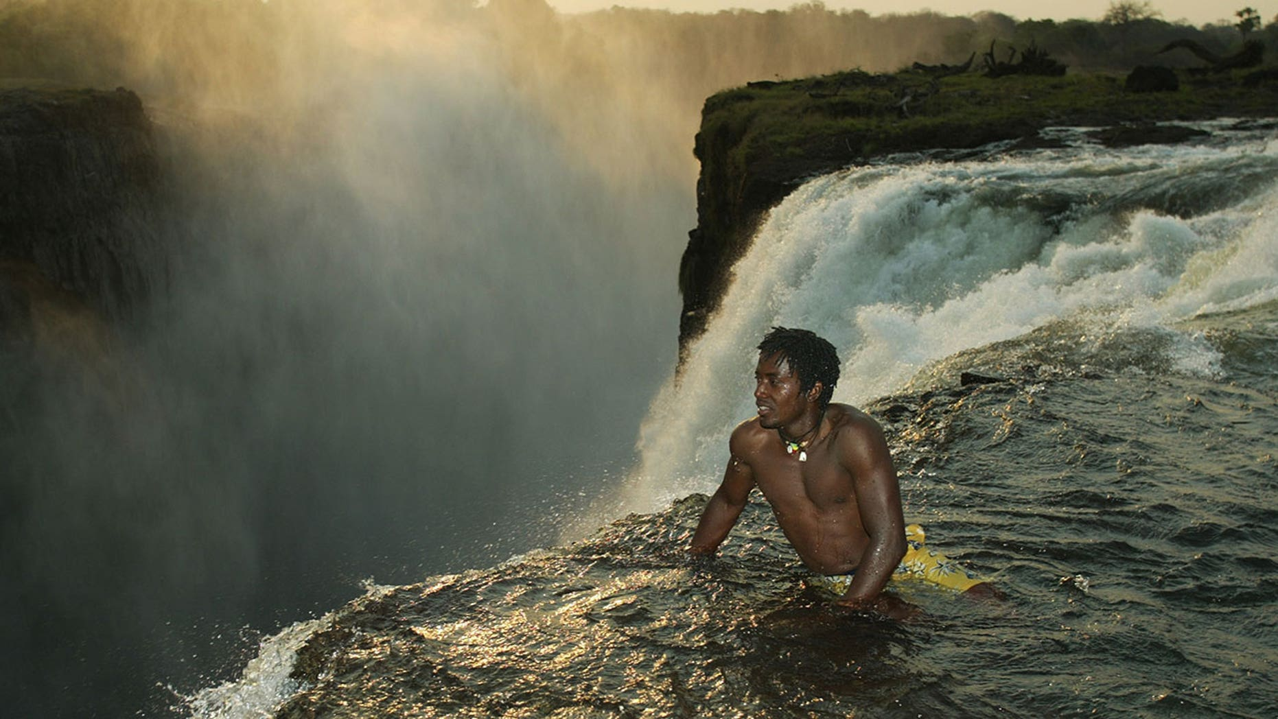 The 39 Devil S Swimming Pool 39 On The Edge Of Victoria Falls Is For Adrenaline Junkies Only Fox News