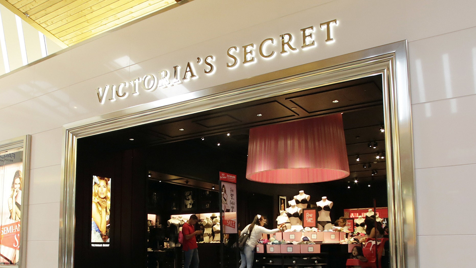 Patrons of a Victoria's Secret in Denmark were greeted by boisterous Irish soccer fans
