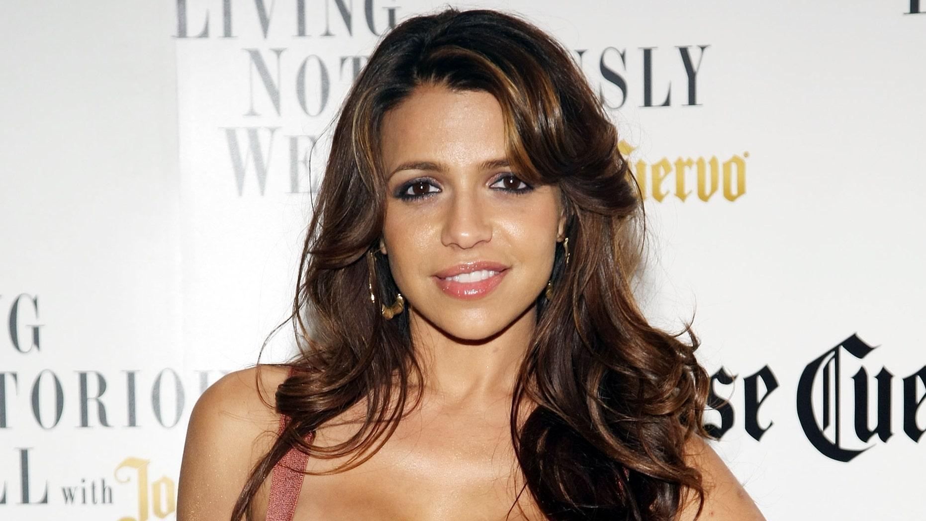 Playboy model Vida Guerra in a March 9, 2009 file photo.