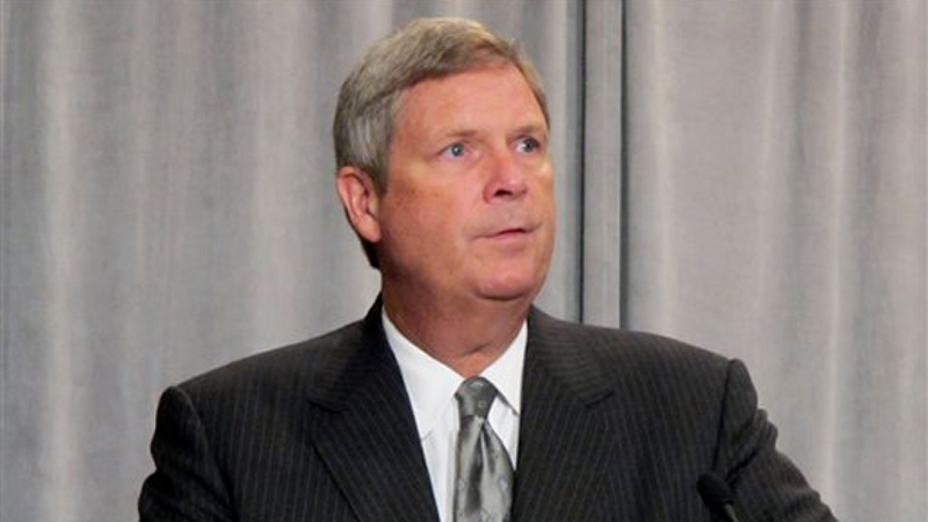 Agriculture Secretary Tom Vilsack speaks to the International Association for Food Protection Aug. 3 in Milwaukee.