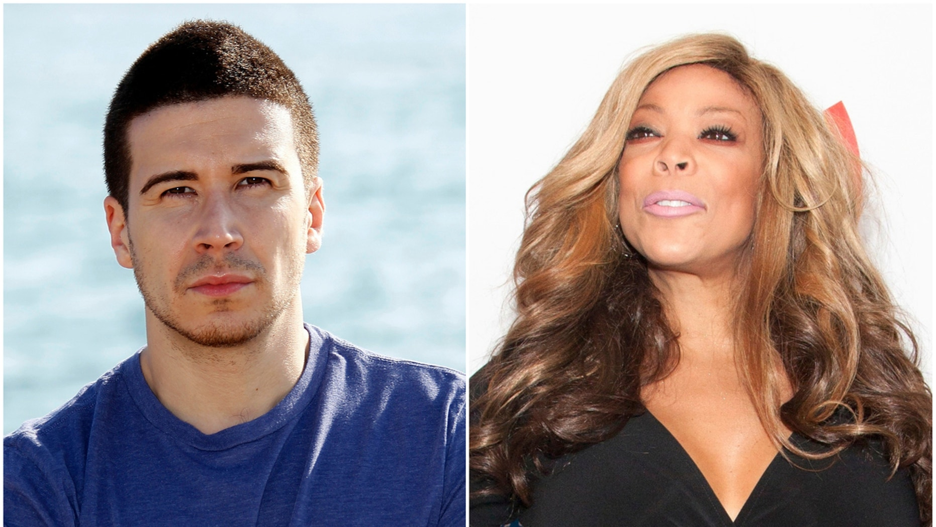 """""""Jersey Shore"""" star Vinny Guadagnino slammed Wendy Williams for tweeting about his relationship."""